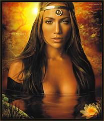 Jennifer Lopez [ The Secret Jungle ] Dedicated to: Caliizthoo ( Omar Rodriguez V.) Tags: jennifer secret desire jungle lopez omarrodriguezv