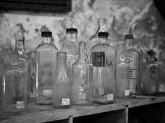 Antique Store Bottles