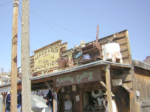 Jackass Junction: Oatman, Arizona