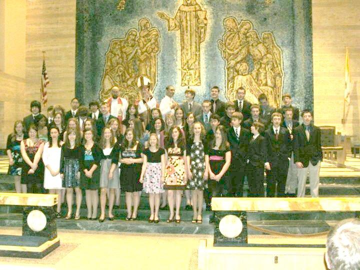 St. Sebastian Confirmation Class 2010