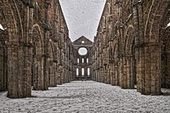 Abbazia sotto la neve - Abbey of San Galgano