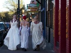 Walking the streets (yipe) Tags: west by austin march texas south sxsw brides sxswi bridesofmarch bridesofaustin sxsweird