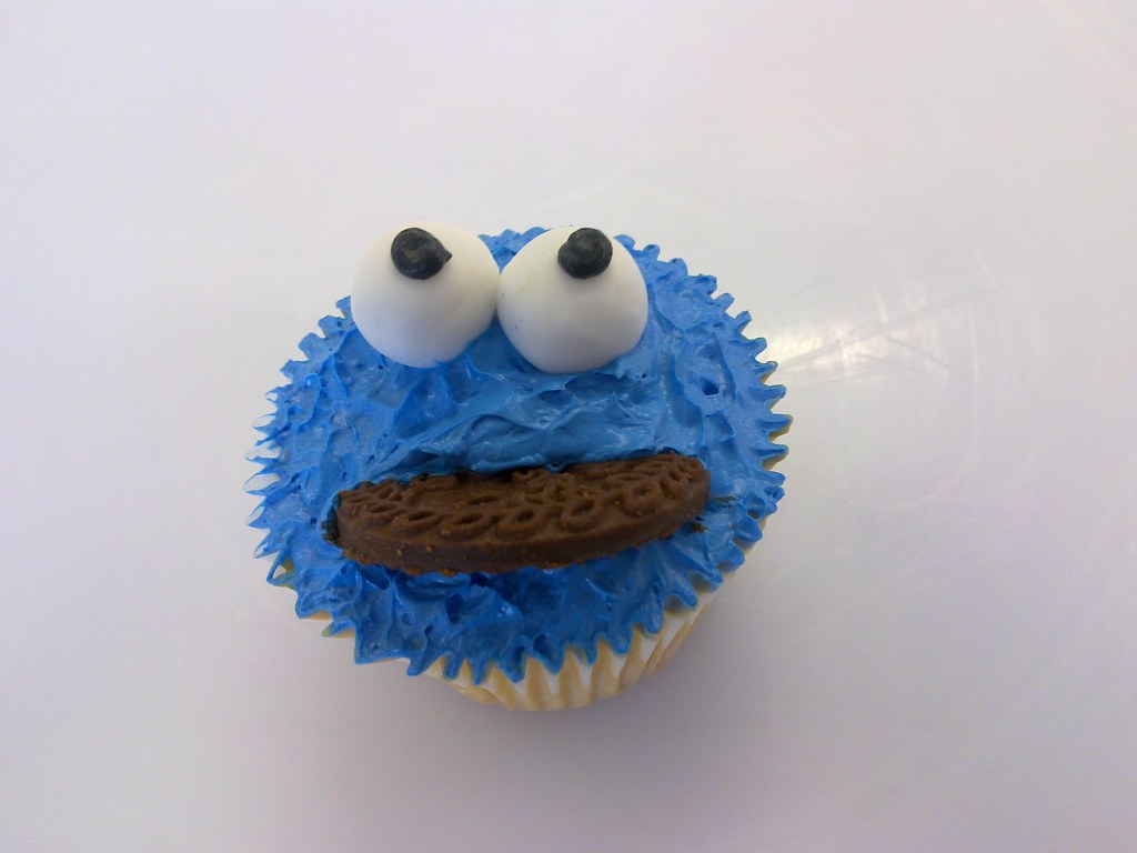 Planet Cake Cupcake Bootcamp Cookie Monster Cupcake
