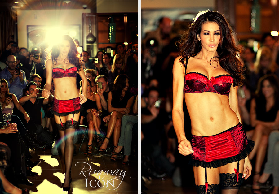 Here's a shot A Frederick's of Hollywood Lingerie Fashion Show at the Argyle ...