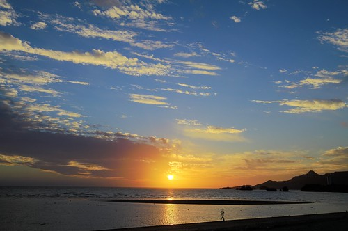名護近辺の夕日 HDR #2