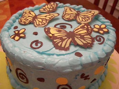 Whimsical Spring Cake