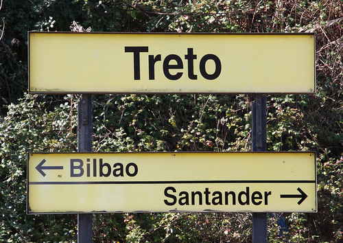 Treto Train Station