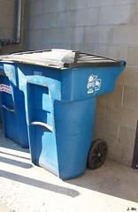 BFI Recycle Cart (TheTransitCamera) Tags: cart recycling bfi amerikart versakart