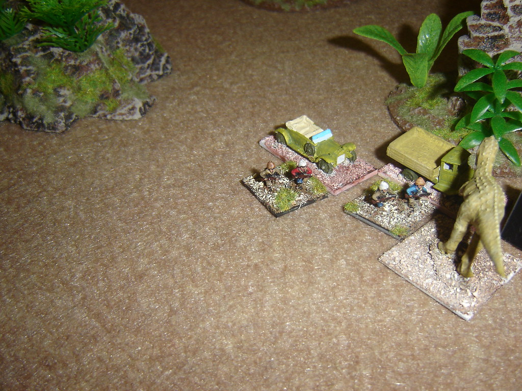Adventurers debus to take on Carnosaur