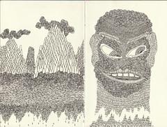 BB's sketchbook now (bezembinder) Tags: ink drawings sketchbook moleskin bezembinder fineliner schetsboek