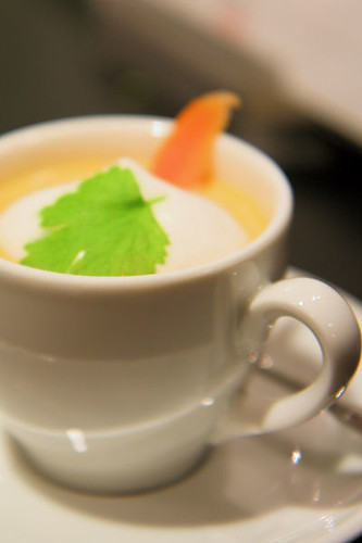 Miele cooking evening - carrot and ginger soup 7845 R
