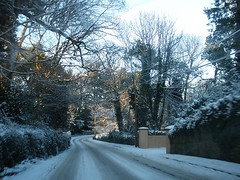 Snowy January spin (St.Stello) Tags: ireland snow pinky cowicklow