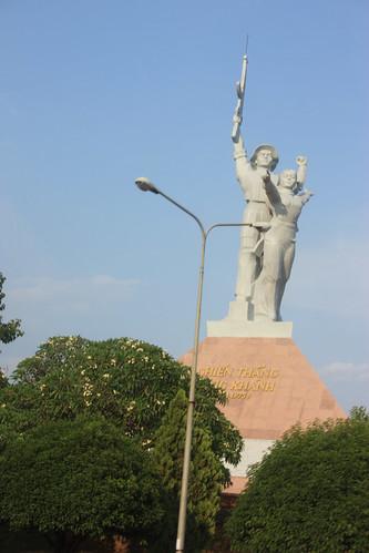 War Memorial in Vietnam