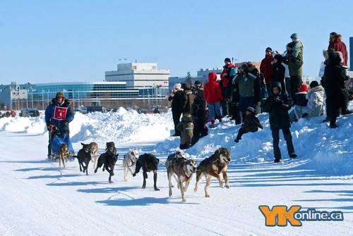 Diavik 150 Dog Sled Race
