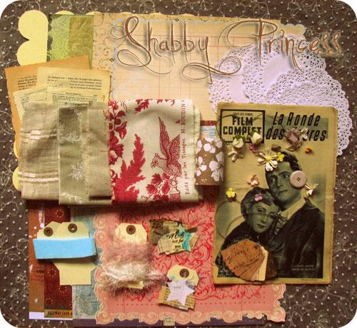 """Kit """"Shabby Princess"""""""