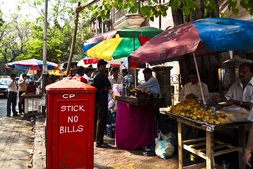 The Colourful street vendors - South Bombay