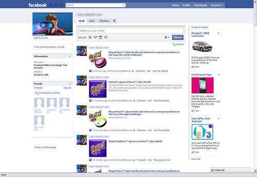 Buzz! Facebook