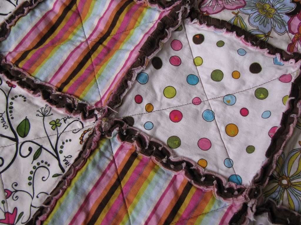 How To Make a Fast & Easy Quilt momspark.net