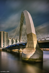 The Squinty Bridge (1) (Shuggie!!) Tags: longexposure bridge water river scotland clyde long exposure williams glasgow karl hdr squinty theunforgettablepictures saariysqualitypictures karlwilliams