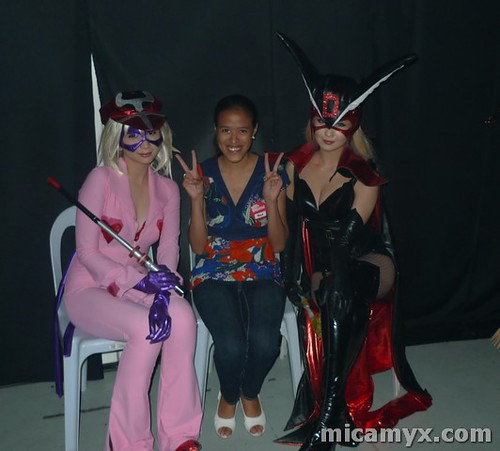 Ashley, Micamyx and Alodia