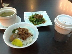 Luroufan lunch at airport