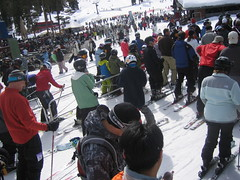 Crowded at Northstar