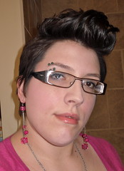 Luvs It (Jenni4Design) Tags: woman girl mohawk fauxhawk mohican fohawk