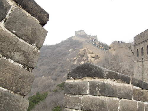 Macro Great Wall of China
