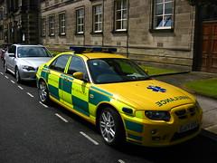 Mg Zt Turbo (barronr) Tags: england yorkshire ambulance harrogate harleystreet