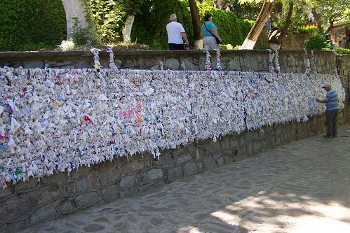 Prayer Wall Near Virgin Mary House