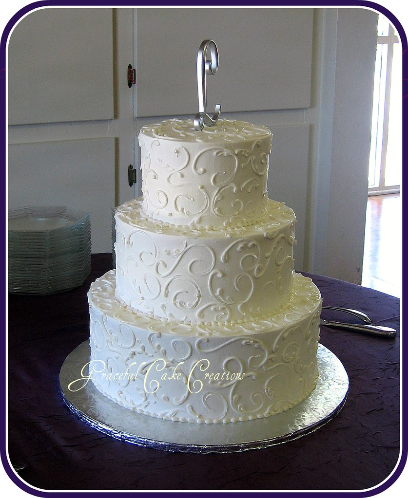 simple round wedding cakes the world s best photos by graceful cake creations 20011