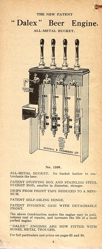Gaskell & Chambers 'Dalex' beer engine, 1934 by mikeyashworth.