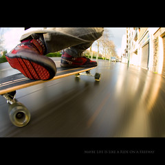 Day Seventy Eight (Seb Huruguen) Tags: street sun fish eye speed canon project photography eos day fisheye tokina riding skate 7d 365 seb toulouse staring 78 offspring sebastien 1017mm etpa huruguen