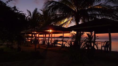 Koh Samui Sunset dinner @ My Friend Restaurant コサムイ タイレストラン マイフレンドレストラン2