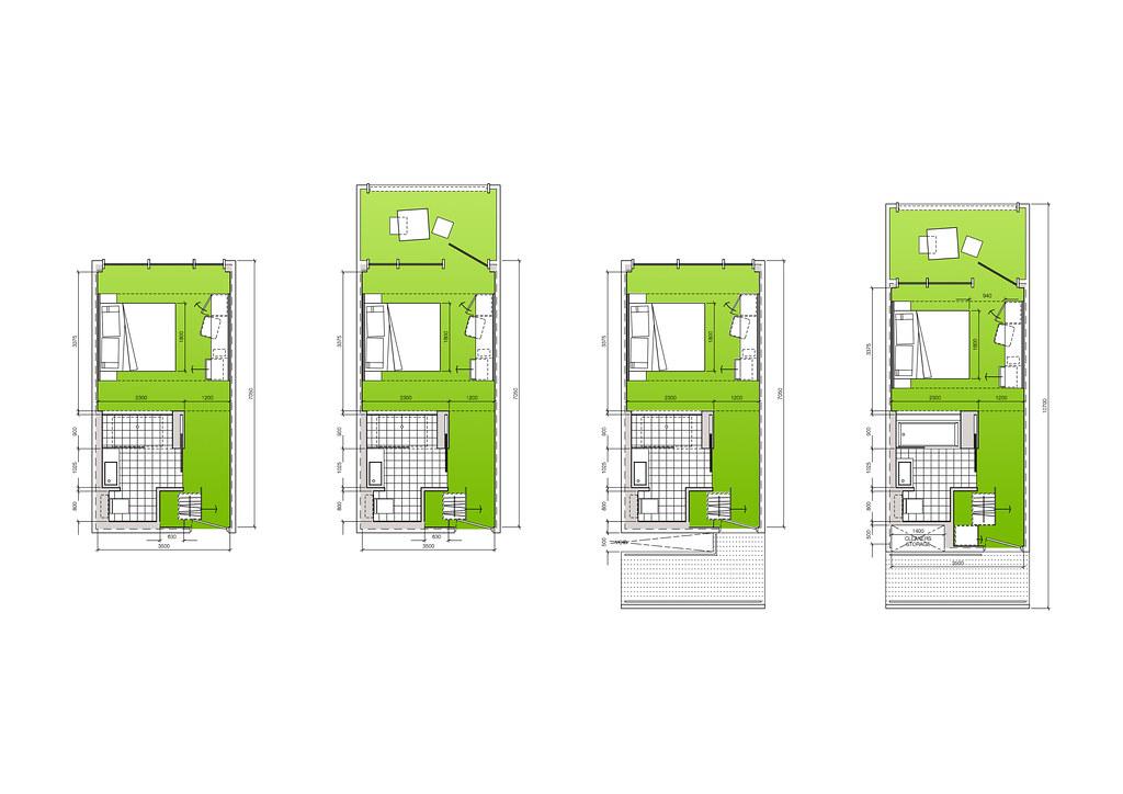 Modular Hotel room concepts (ESA)