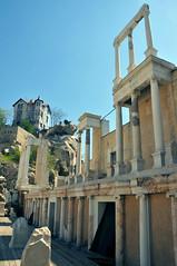 Roman ruins, Plovdiv (anji) Tags: bulgaria balkans plovdiv