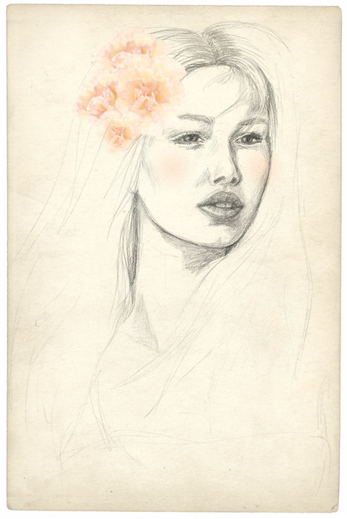carnation girl