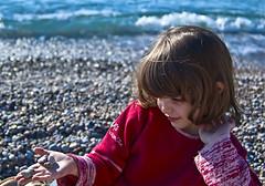 Spring time by the sea (lefteris_) Tags: sea portrait spring pebbles rodos rhodes rhodos beachwaterfront