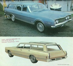 1968 Mercury Montego and Commuter wagons