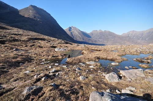 Beinn Alligin from the bottom of Coire nan Laogh