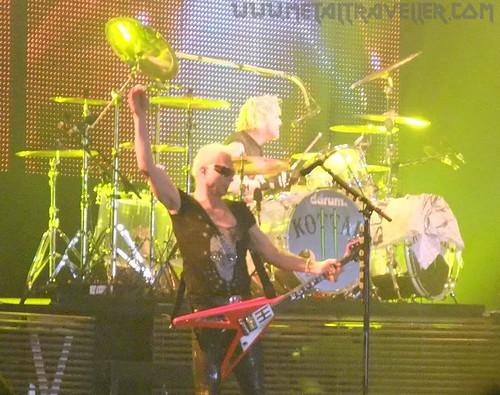 Scorpions live in Belgium