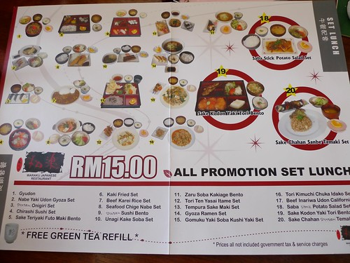 RM15 Set Lunch Promotion