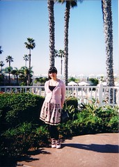 Hotel California (♥ Cateaclysmic ♥) Tags: pink black temple hotel outfit sandiego shirley mermaid coronado