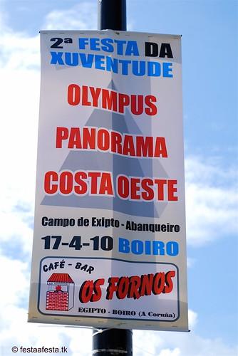 Boiro - II Festa da Xuventude 2010 - Abanqueiro - cartel