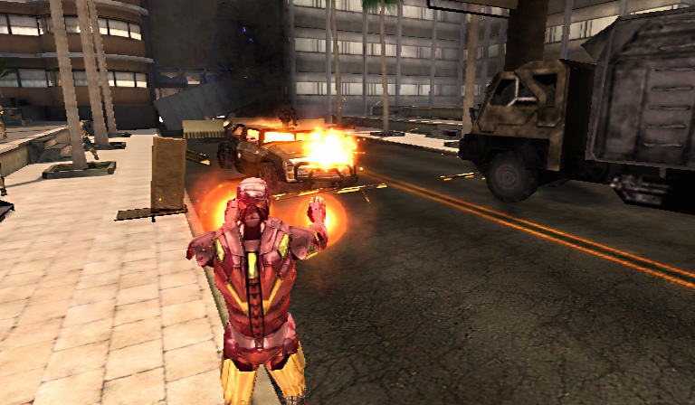 Iron Man 2 Game Wii