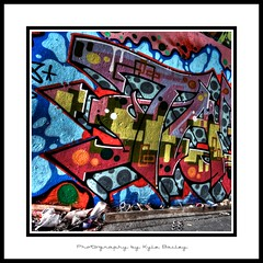 Leeside Skatepark Graffiti 6630 (Kyle Bailey - Da Big Cheeze) Tags: street city urban inspiration streetart color colour art wall vancouver canon graffiti intense saturated artist colours bc bright drawings style tunnel professional example walkway vandalism spraypaint graff piece inspire tagging hdr highdynamicrange bombing gangs defacement critique selfexpression leeside matasi leematasi kylebailey rookiephoto dabigcheeze wwwrookiephotocom