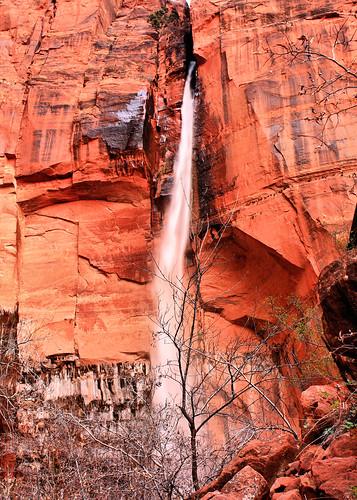 5x7 Upper Emerald Falls Zions IMG_8794
