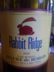 2008 Rabbit Ridge Allure de Robles