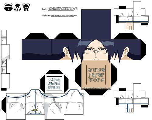 ishida - bleach papercraft