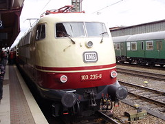 Trier (mostlybytrain) Tags: electric train rail railway locomotive tee 103 trier mosel